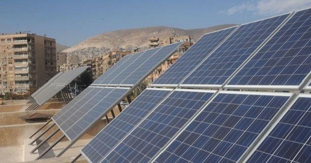 تنفيذ مشاريع الطاقة الشمسية في سورية