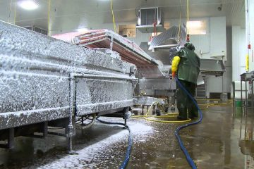 Complete range of industrial cleaning services