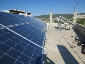 تنفيذ مشروع الري بالطاقة شمسية بقرية بداما في جسر الشغور