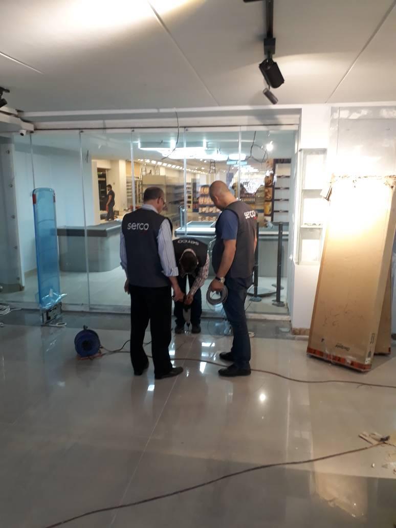 تعهدات انشاءات هندسية كهربائية دمشق سيركو نجارة حدادة كهرباء بناء دمشق سورية