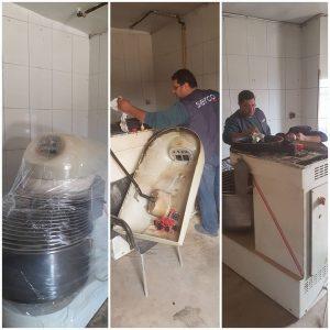 تنظيف و تجديد المعدات الصناعية ( ماكينات , الات , خطوط انتاج , افران ) في سوريا