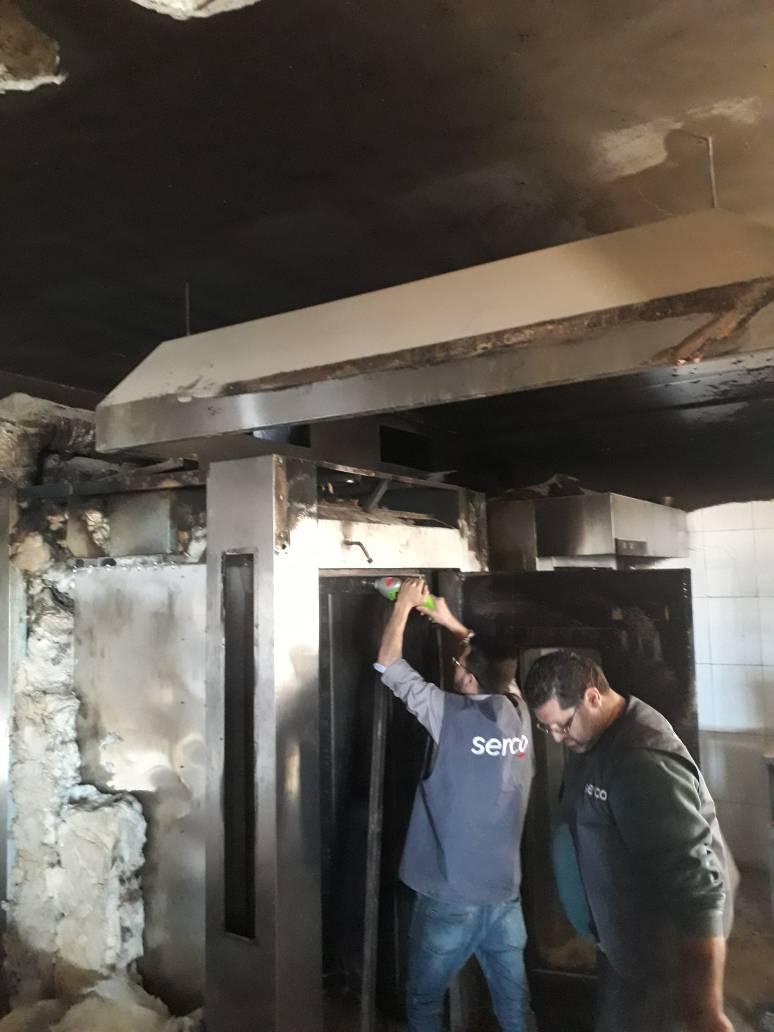 صيانة الأفران الدوارة و معدات المخابز و المطاعم دمشق سورية