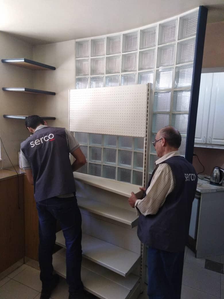 تركيب مستودعات - مخازن- - رفوف- ادراج - أرفف - مخابر - صيدليات - دمشق - سورية