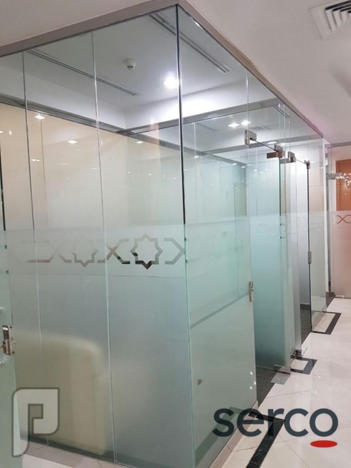 تركيب زجاج مقسى الواحد زجاجية ضد الرصاص غير قابلة للكسر شركة معمل مصنع الواح زجاج سيكوريت دمشق سوريا